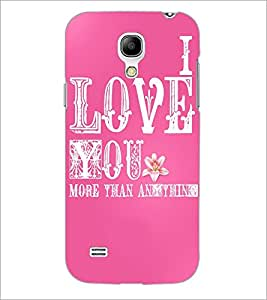 PrintDhaba Quote D-3467 Back Case Cover for SAMSUNG GALAXY S4 MINI (Multi-Coloured)