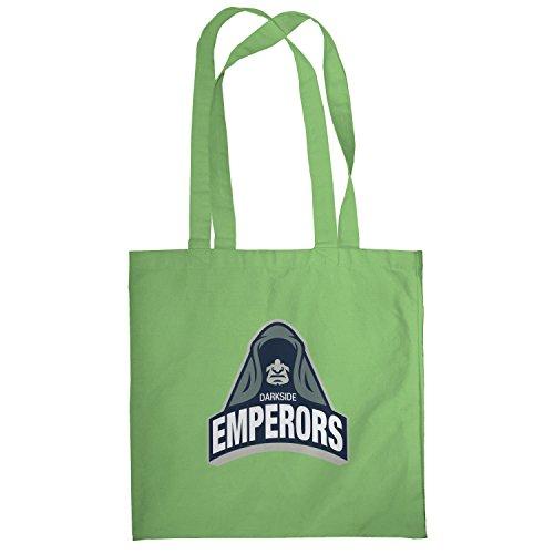 Texlab–Darkside Emperors–sacchetto di stoffa Verde chiaro