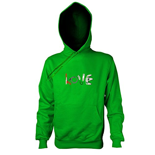 TEXLAB - Banksy Gaming - Herren Kapuzenpullover, Größe XXL, grün