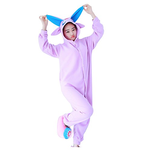 Unisexe Anime Combinaison Costume Maillots de bain Onesie Pyjamas Espeon