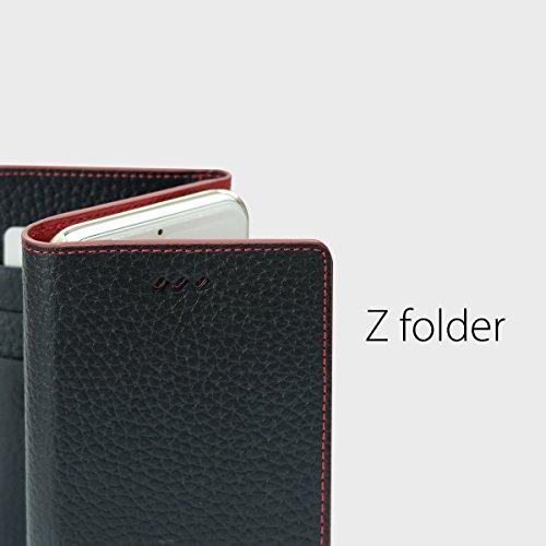 Coque Iphone 6S, araree® [z-folder] Premium Étui portefeuille en cuir véritable avec porte-cartes d'identité Support pour Apple (2015)