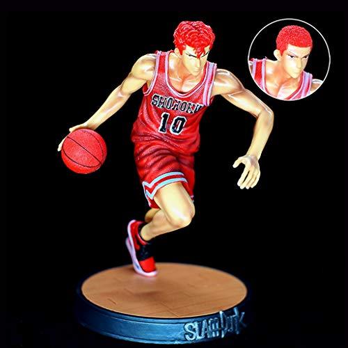 LJBOZ Slam Dunk Estatua de Anime Sakuragi Hanamichi Modelo de Juguete