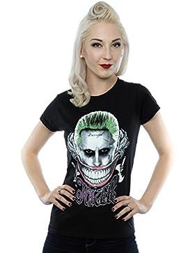 Suicide Squad Mujer Joker Coloured Smile Camiseta