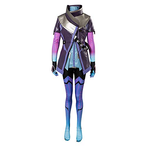 MingoTor Schwarzer Schatten Outfit Cosplay Kostüm Damen M