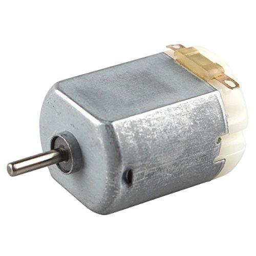 Haljia Mikromotor DC 3 V-6 V, Motor für Bastler, Vierrad-, Auto-Fans, Spielzeug -