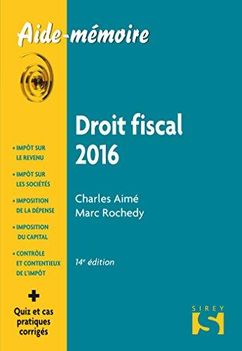 Droit fiscal 2016-14e éd.