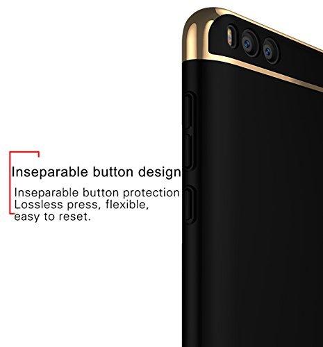Iphone 8 Coque,OFU Coque avancé PC Composition structure Étui Housse Protection Shell Cover Case Pour Iphone 8-d'or d'or