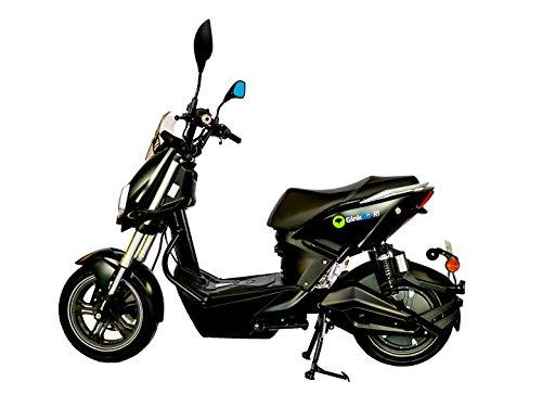 GinkGo R1 Elektroroller mit Straßenzulassung – Zweisitzer – 45 km/h – bis zu 120 km – herausnehmbarer Lithium Ionen Akku