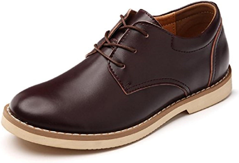 Herren Winter Warm halten Freizeit Lederschuhe Mode Flache Schuhe Schuhe erhöhen Rutschfest Gemuumltlich EUR GRöSSE