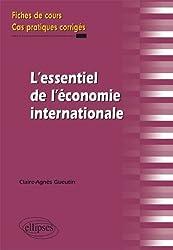 L'essentiel de l'économie internationale : Fiches de cours, cas pratiques corrigés