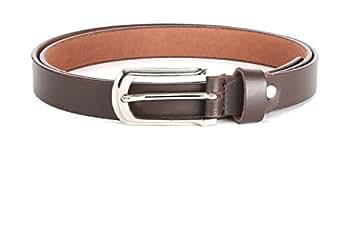 WildHorn Women's Leather Belt (WHRH179--30, Brown, 30)