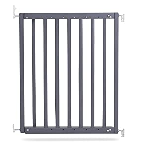 Safetots Chunky Wooden Screw Fit Stair Gate Grey 63.5cm-105.5cm   11