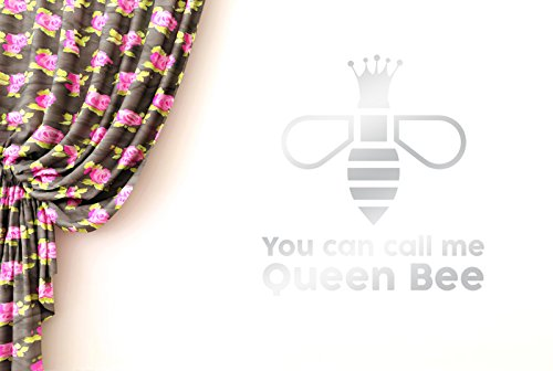 CUT IT OUT You Can Call Me Queen Bee Wand Sticker Kunst Aufkleber - Groß (Höhe 62 cm x Breite 57 cm) (glänzend) Remasuri