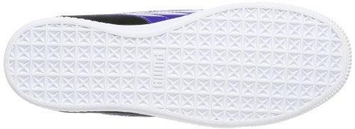 Puma Glyde Lo Jr, Sneaker unisex bambino nero (Schwarz (black-spectrum blue-fluo pink 07))