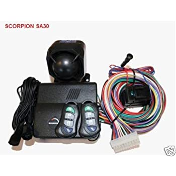41yqik4Cf0L._SL500_AC_SS350_ new scorpion sa30 car van alarm immobiliser c locking amazon co scorpion sa30 wiring diagram at fashall.co