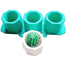 Cutowin - cactus Molde de silicona, molde de arcilla,diseño de arcilla cerámica (