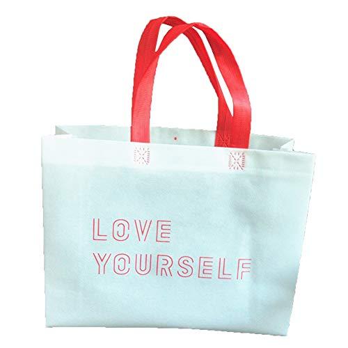 Go2 Love Yourself Kpop Bangtan Jungen, lila, 3 Stück