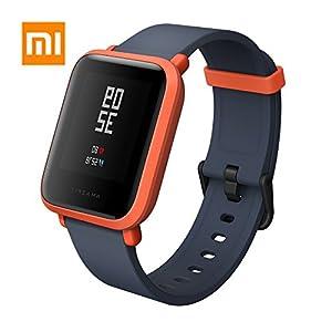 AMAZFIT Bip Smartwatch Monitor de Actividad Pulsómetro Ejercicio Fitness Reloj Deportivo (Versión Internacional) Negro… 1