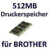 512MB RAM Drucker-Speicher für Brother DCP-9010CN + DCP-9040CN + DCP-9042CDN + DCP-9045CDN