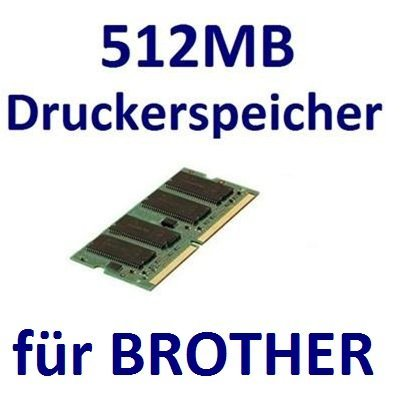 Pc133 144 Pin Sodimm Speicher (512MB RAM Drucker-Speicher für Brother DCP-9010CN + DCP-9040CN + DCP-9042CDN + DCP-9045CDN)