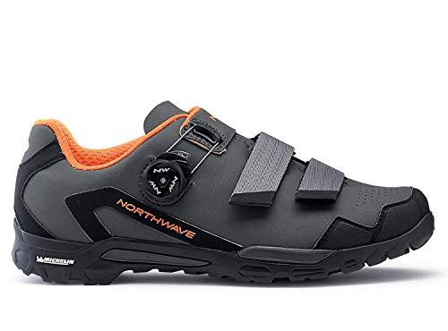 Northwave Outcross 2 Plus MTB Trekking Fahrrad Schuhe grau/orange 2019: Größe: 43