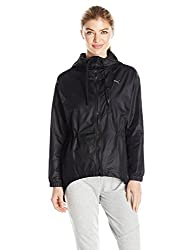 PUMA Womens Explosive Jacket, Puma Black/Irridescent, L