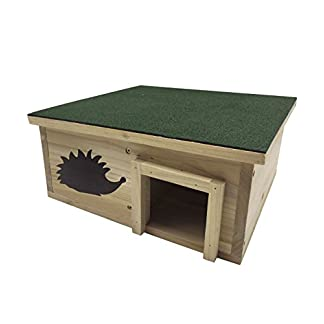 dehner 4140158 natura hedgehog house karlie/approx. 40 x 40 x 19 cm pine wood natural Dehner 4140158 Natura Hedgehog House Karlie/Approx. 40 x 40 x 19 cm Pine Wood Natural 41yqlcVydzL