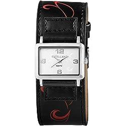Excellanc Women's Quartz Watch with different materials 195022500124