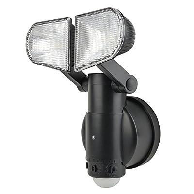NiteSafe Twin Activated Floodlight LED Wireless Motion Sensor Light