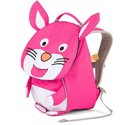 Affenzahn Kinderrucksack Henni Hase für 1-3 Jährige im Kindergarten -Pink