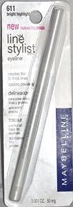 Maybelline Line Stylist Eye Pencil Eyeliner - Bright Highlight 611 (White)