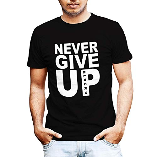 dac7b1353 Never Give Up Mohamed Salah Style Liverpool Supporter T-Shirt (S