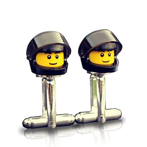 LEGO® Biker gemelos negro Motorbike