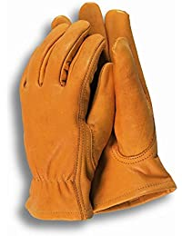 2XTown & Country TGL408M Deluxe Premium Leather Mens Gloves Medium