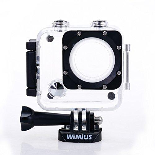 WiMiUS Unterwassergehäuse L1 Action Cam Wasserdichte Gehäuse