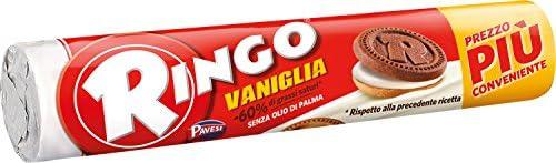 Ringo - Biscotti - Vaniglia - 12 pezzi da 165 g [1980 g]