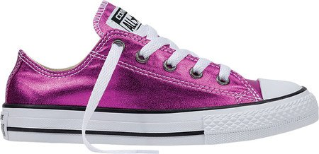 Converse Kids CT All Star Ox Canvas Trainers Magenta