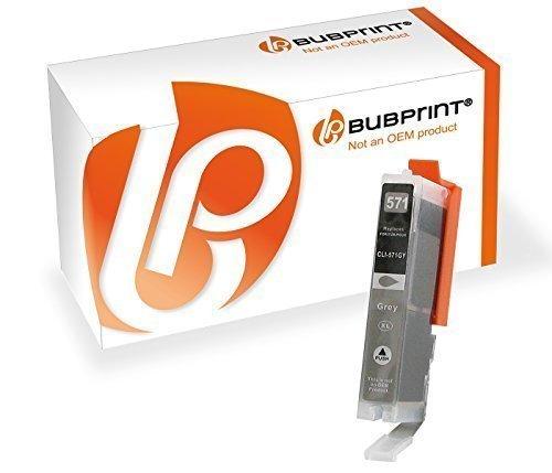 Preisvergleich Produktbild Bubprint Druckerpatrone kompatibel für Canon CLI-571 CLI 571XL GY für Pixma MG7750 MG7751 MG7752 MG7753 TS8050 TS8051 TS8052 TS8053 TS9050 TS9055 Grau