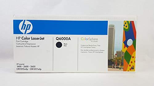 HP Toner schwarz, f. Color LaserJet 2600N - Q6000A - Schwarz, Smart Druckkassette
