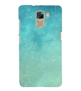 EPICCASE Light Blue Sky Mobile Back Case Cover For Huawei Honor 7 (Designer Case)