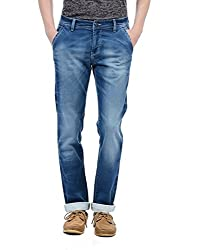 Monte Carlo Mens Straight Fit Jeans (2180872003DN-1-32_Dark Blue)