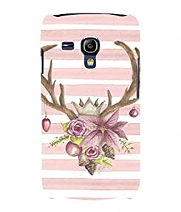 For Samsung Galaxy S3 Mini I8190 -Livingfill- Lovely Blush Soft Pink Printed Designer Slim Light Weight Cover Case For Samsung Galaxy S3 Mini I8190 (A Beautiful One of the Best Design with a Classic Theme & A Stylish, Trendy and Premium Appeal/Quality) (Red & Green & Black & Yellow & Other)