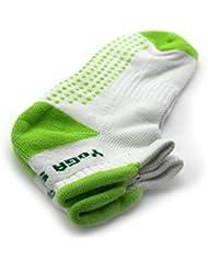 Nouveau chaussette antidérapant exercice de yoga professionnelle pour les femmes Green