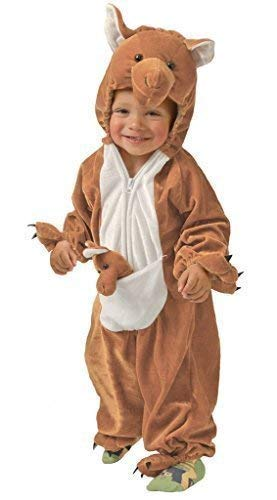 Tier Australische Kostüm - Fancy Me Baby Mädchen Junge Braun Känguru Australisches Tier Verkleidung Kostüm Kleidung 6-12 12-24 Monate - Braun, 6-12 Months
