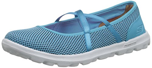 Skechers on-the-GO Point, Damen Geschlossene Ballerinas, Blau (BLU), 39 EU