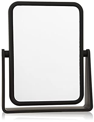 Danielle Rectangle Soft Feel Vanity Mirror Black