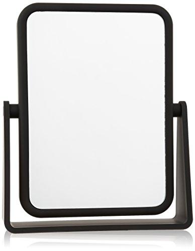 Danielle Kosmetikspiegel, rechteckig, weiche Haptik, schwarz