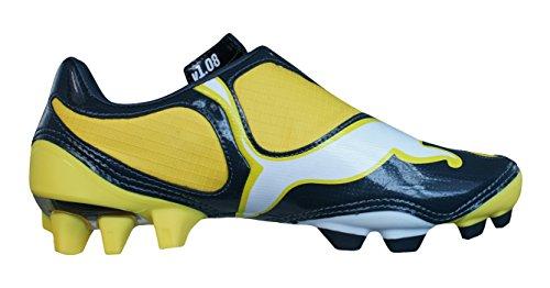 Puma V1.08 FG Garçons Bottes de football yellow