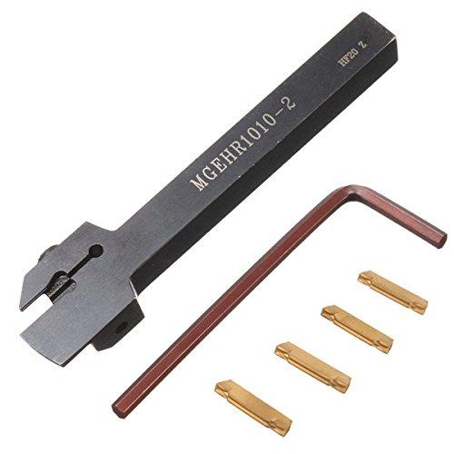 EsportsMJJ Mgehr 1010-2 10X10X100mm Drehmaschine Drehen Werkzeughalter Mit 4Pcs Mgmn200 Einsätze