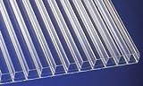 Polycarbonat Stegplatten Hohlkammerplatten klar 3500 x 980 x 16 mm (37,84 EUR/qm)